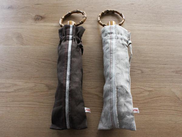 同じ柄の袋付き