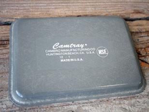 CAMBRO CAMTRAY SQUARE