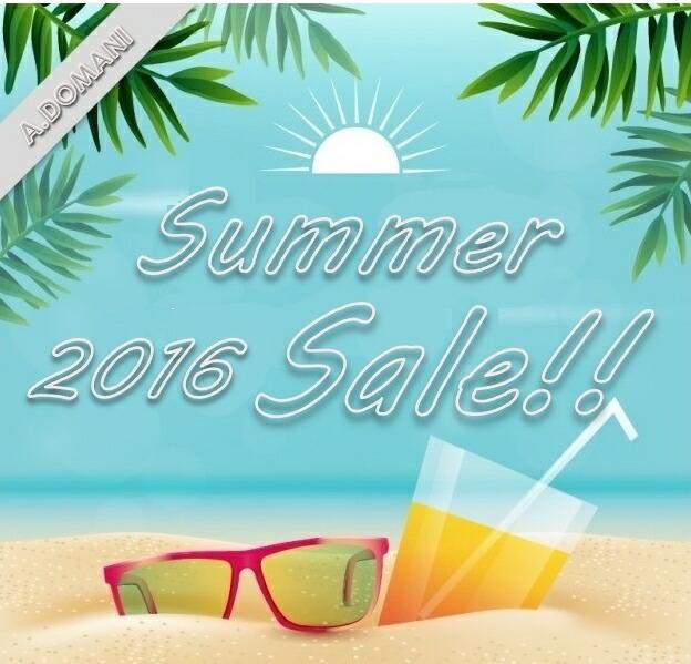 ���2016 Summer Sale!!