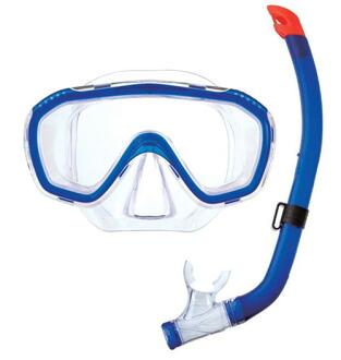 初級浮潛遮罩設置 SM 110 浮潛集的初中大小兒童的孩子浮潛潛水面罩和通氣管套