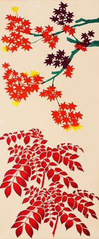 剪纸秋天图案步骤