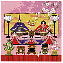 Sai: Chronicle small Doll Festival furoshiki wrapping cloth kimono washcloth