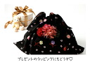 East bag (pattern design) Bell and cherry blossom wrapping kimono washcloth