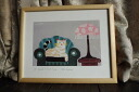 Painting L, Fiume cat cat offset print and poster art