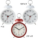 "Alarm clock ""MOSAIC"" (IFCL-359)( 検 )| Clock | Table clock | Table clock | Wooden clock"