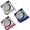 "Cube type glass clock ""coffret"" (NSGW1000-) (検 )