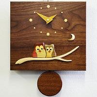 寄せ木振り子時計F10