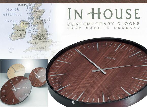 インハウス 壁掛け時計