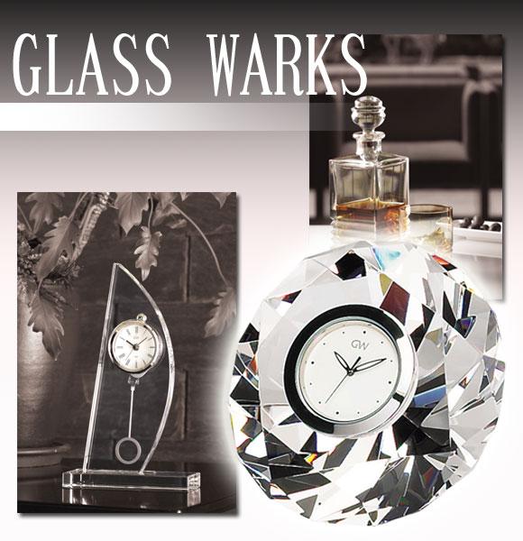 ガラス時計「グラスワークス」