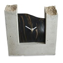Put concrete; C-dent - CL (検 )|) at time in total Clock | Table clock | Table clock | Wooden clock