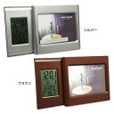"Put up a photograph, and is accompanied; table clock ""クワドラート"" (SJ-GH -001)"
