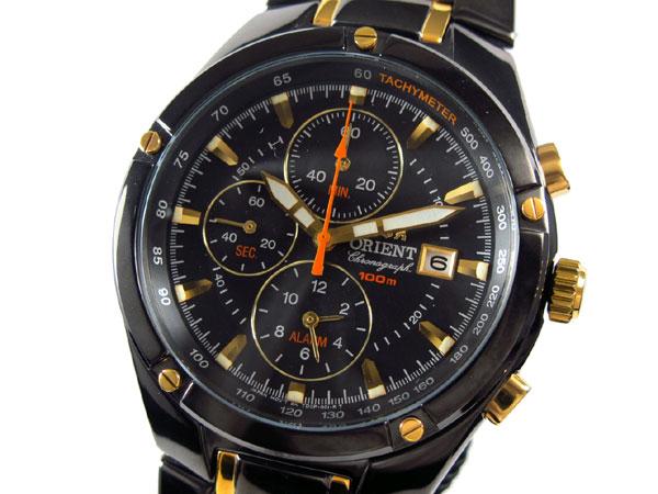 オリエント ORIENT 腕時計 アラームクロノ メンズ FTD0P006B0-1