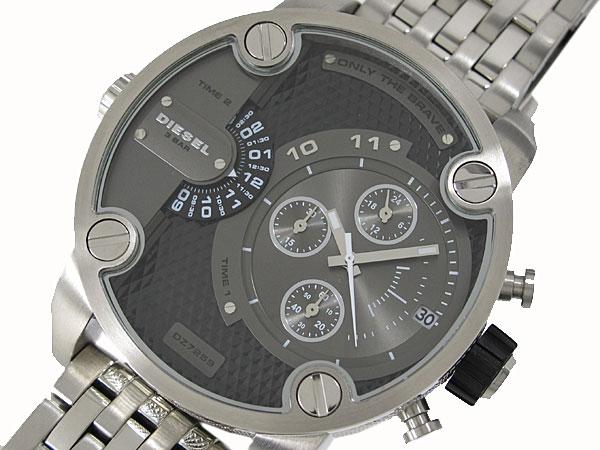 ディーゼル DIESEL デュアルタイム 腕時計 メンズ DZ7259-1