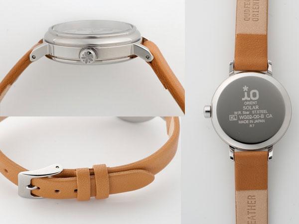 オリエント ORIENT iO イオ レディース 腕時計 ソーラー WI0051WG-2