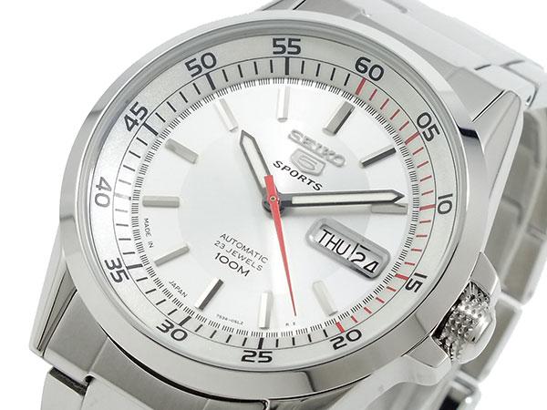 セイコー SEIKO 5 SPORTS 逆輸入 日本製 自動巻き メンズ 腕時計 SNZH17J1 メタルベルト-1