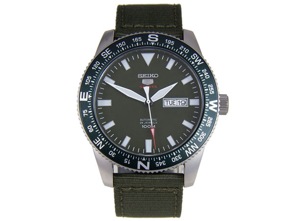 SEIKO 5 SPORTS スポーツ 逆輸入 自動巻き メンズ 腕時計 SRP663K1-1