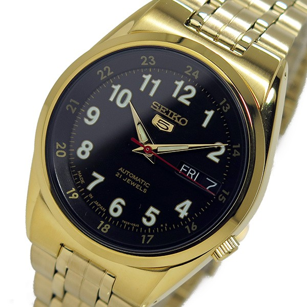セイコー 5 SEIKO 自動巻き メンズ 腕時計 SNK596J1 ブラック-1