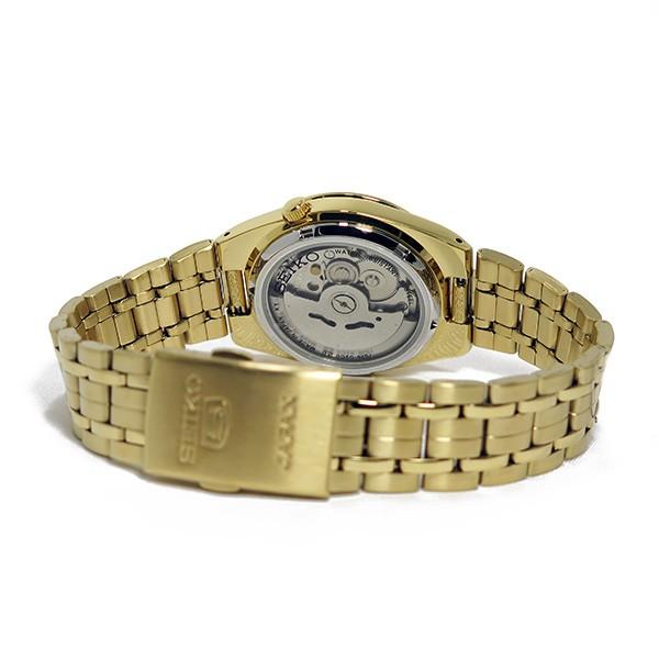 セイコー 5 SEIKO 自動巻き メンズ 腕時計 SNK596J1 ブラック-3