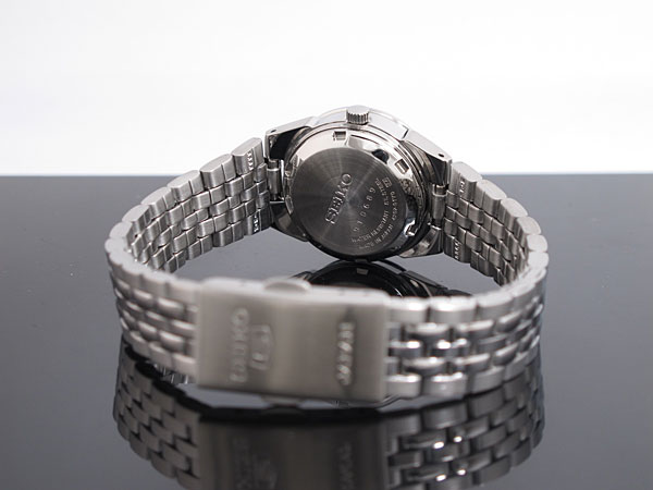 SEIKO 5 セイコー5 逆輸入 日本製 レディース 自動巻き 腕時計 SYMG57J1 メタルベルト ブレスレット-3