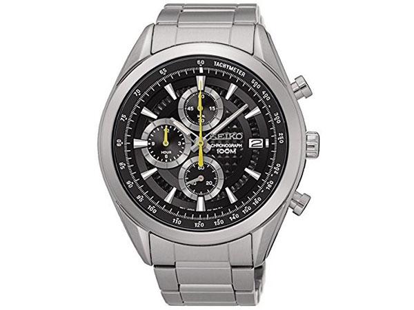 セイコー SEIKO 逆輸入 クロノグラフ メンズ 腕時計 SSB175P1 メタルベルト-1