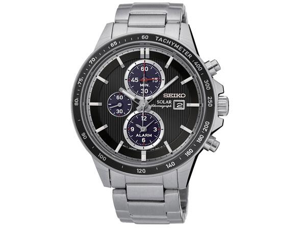 セイコー SEIKO 逆輸入 ソーラー クロノグラフ 腕時計 SSC435P1-1