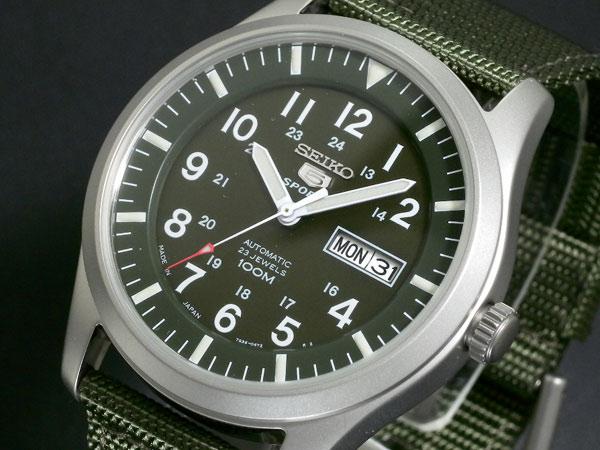 セイコー SEIKO セイコー5 スポーツ 5 SPORTS 自動巻き 腕時計 SNZG09J1-1