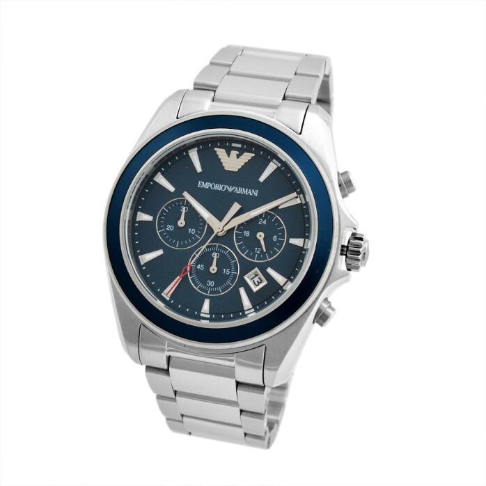 エンポリオ・アルマーニ EMPORIO ARMANI AR6091  クロノグラフ メンズ腕時計