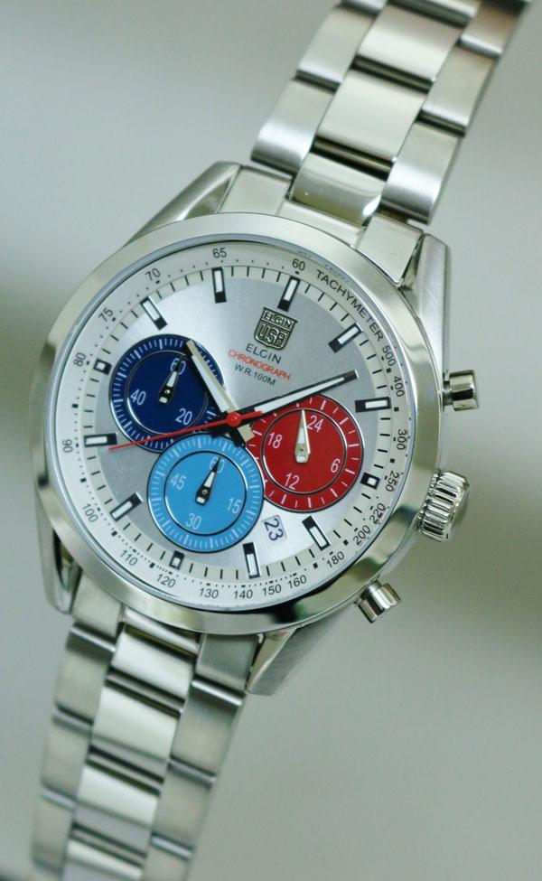 エルジン ELGIN 腕時計 クロノグラフ メンズ FK1411S-S-2