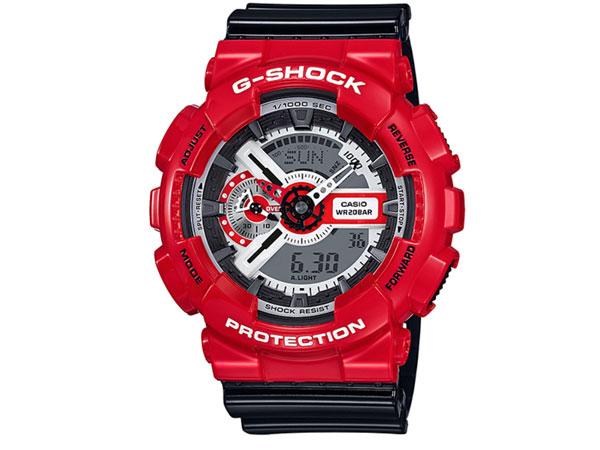 カシオ CASIO Gショック G-SHOCK アナデジ 腕時計 ソリッドレッド GA-110RD-4A メンズ-1