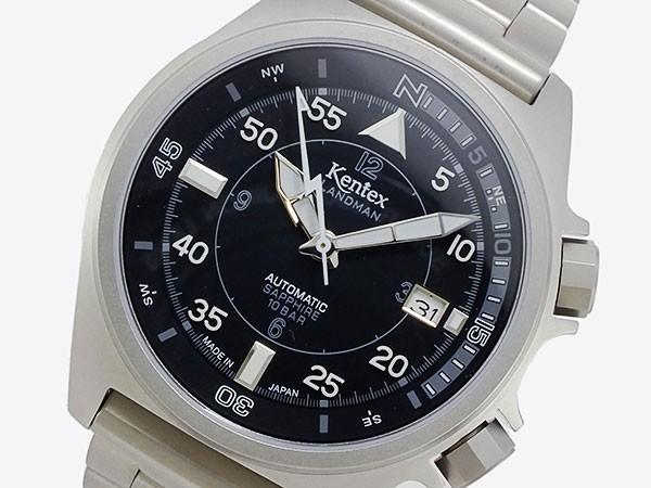 ケンテックス KENTEX ランドマン 自動巻き メンズ 腕時計 S678X-05-1