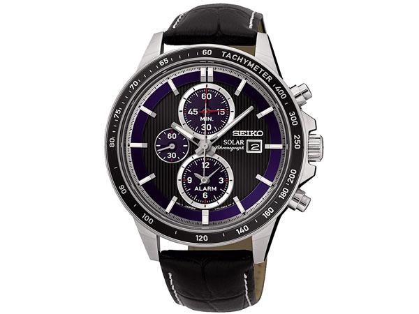 セイコー SEIKO 逆輸入 ソーラー クロノグラフ 腕時計 SSC437P1-1