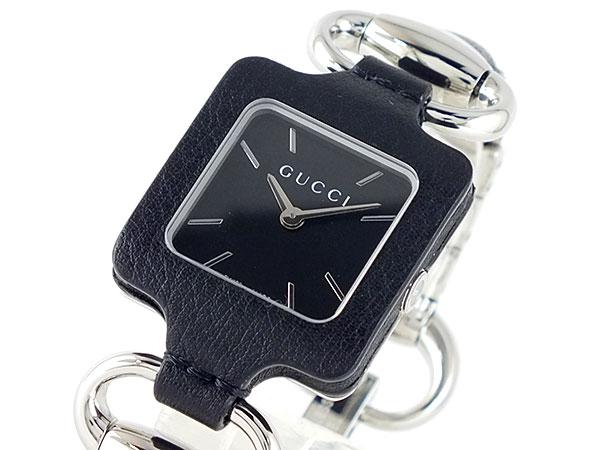 GUCCI グッチ 1921 レザー 腕時計 レディース YA130402-1