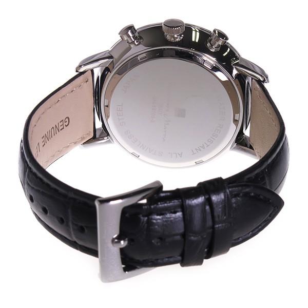 サルバトーレマーラ クロノ クオーツ メンズ 腕時計 SM16105-SSBK ブラック-3