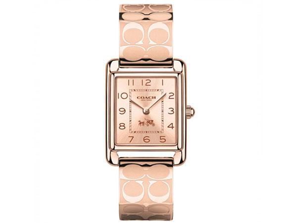 コーチ COACH ペイジ レディース 腕時計 14502161 ピンクゴールド バングル-1