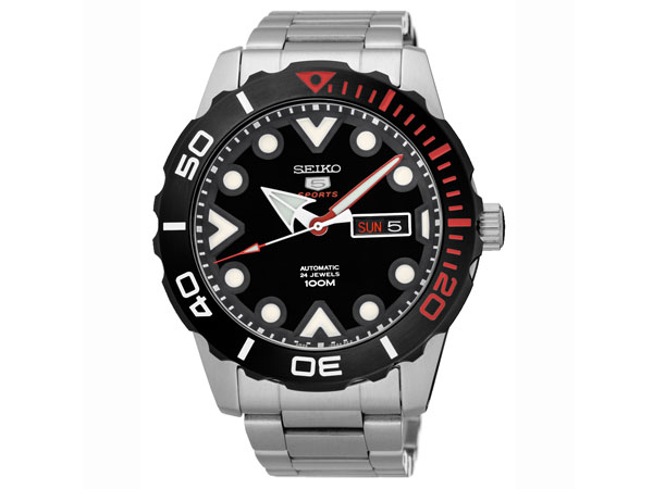 セイコー 5 スポーツ SEIKO 腕時計 自動巻き 海外モデル SRPA07K1-1