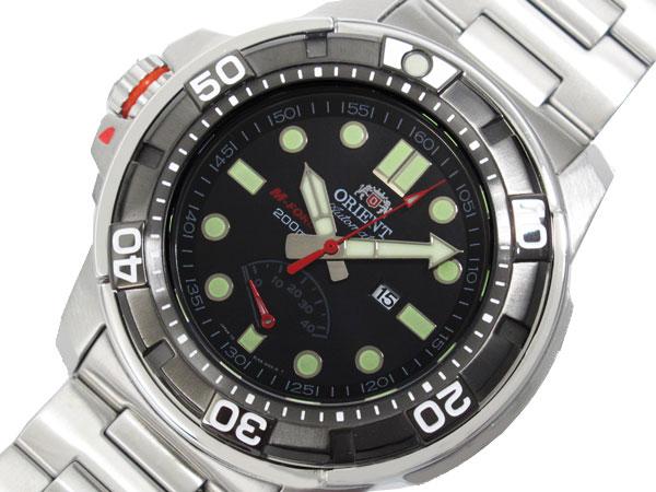 オリエント ORIENT M-FORCE 200m 腕時計 自動巻き メンズ SEL06001B-1