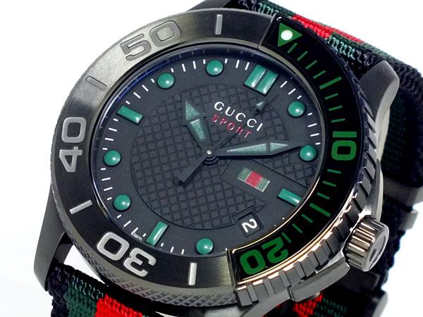 GUCCI グッチ Gタイムレス スポーツ 腕時計 メンズ YA126229-1