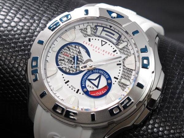 チャールズ ヒューバート 自動巻き メンズ 腕時計 X0242-030-1