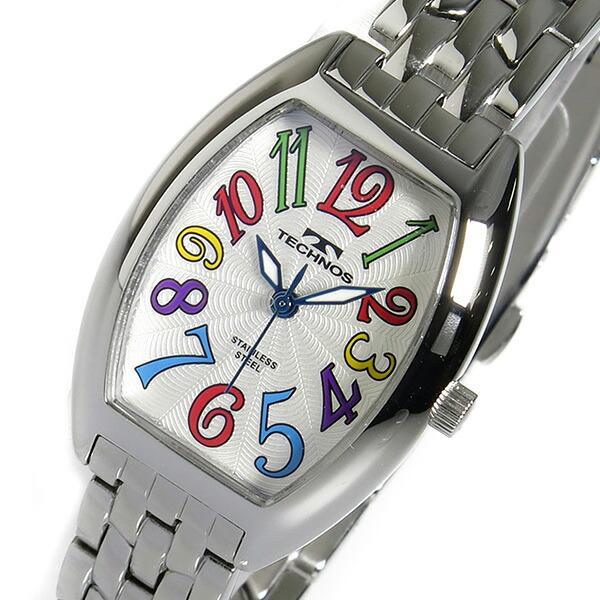 テクノス TECHNOS 腕時計 レディース TSL407SS クオーツ-1