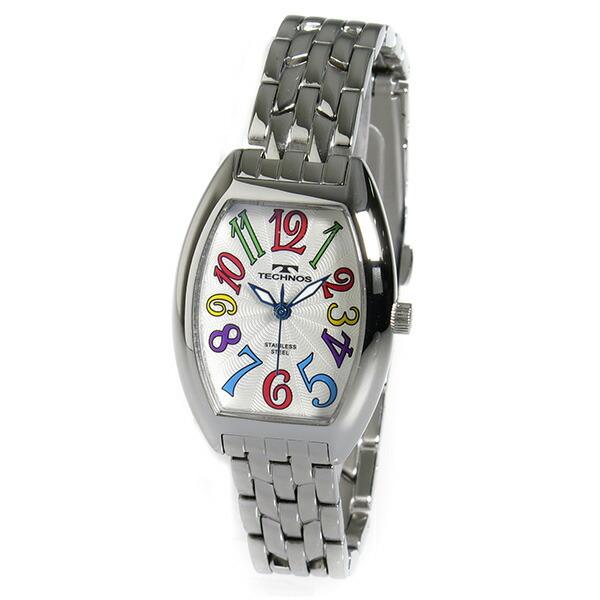 テクノス TECHNOS 腕時計 レディース TSL407SS クオーツ-2