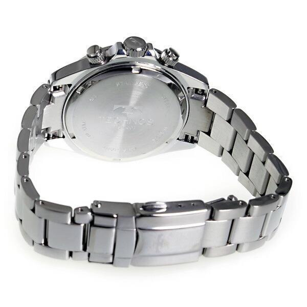 テクノス TECHNOS 腕時計 メンズ TSM401SB クロノグラフ-3
