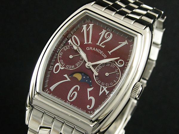 GRANDEUR グランドール 腕時計 メンズ JGR002W2 クオーツ 日本製-1