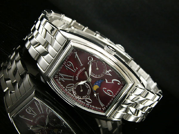 GRANDEUR グランドール 腕時計 メンズ JGR002W2 クオーツ 日本製-2