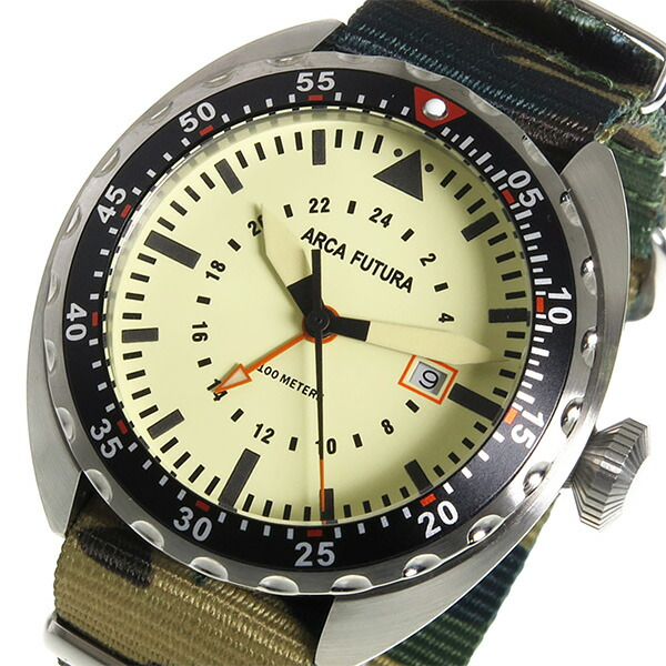 ARCA FUTURA アルカフトゥーラ 腕時計 メンズ 3750IV2 クオーツ-1