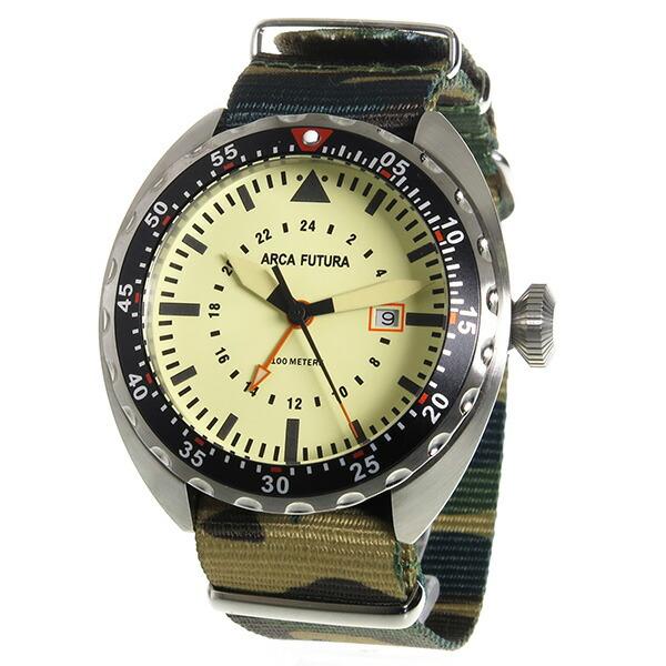 ARCA FUTURA アルカフトゥーラ 腕時計 メンズ 3750IV2 クオーツ-2