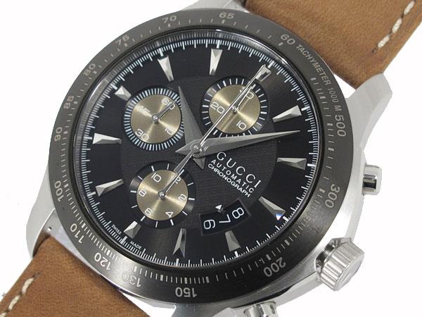 GUCCI グッチ 腕時計 メンズ 自動巻き クロノグラフ YA126240-1