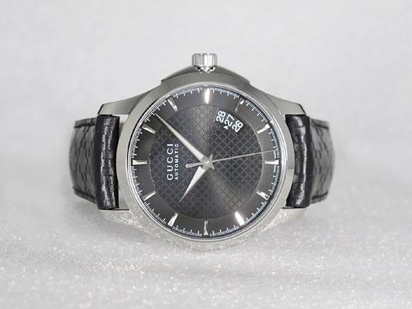 GUCCI グッチ Gタイムレス 腕時計 自動巻き メンズ YA126413-2