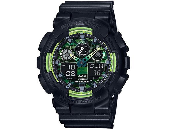 カシオ CASIO Gショック G-SHOCK アナデジ メンズ 腕時計 GA-100LY-1A-1
