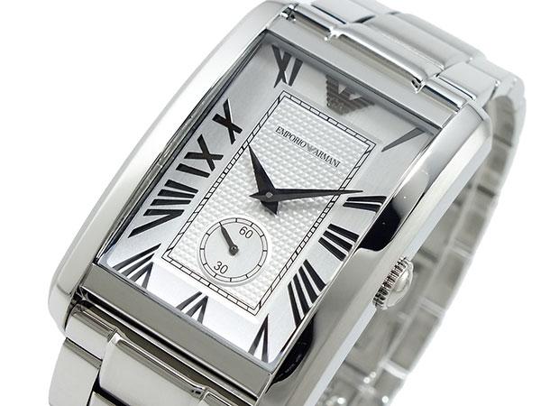 エンポリオ アルマーニ EMPORIO ARMANI 腕時計 AR1607 シルバー-1