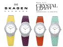 SKAGEN Skagen Watch Womens 818 SS Swarovski ski series